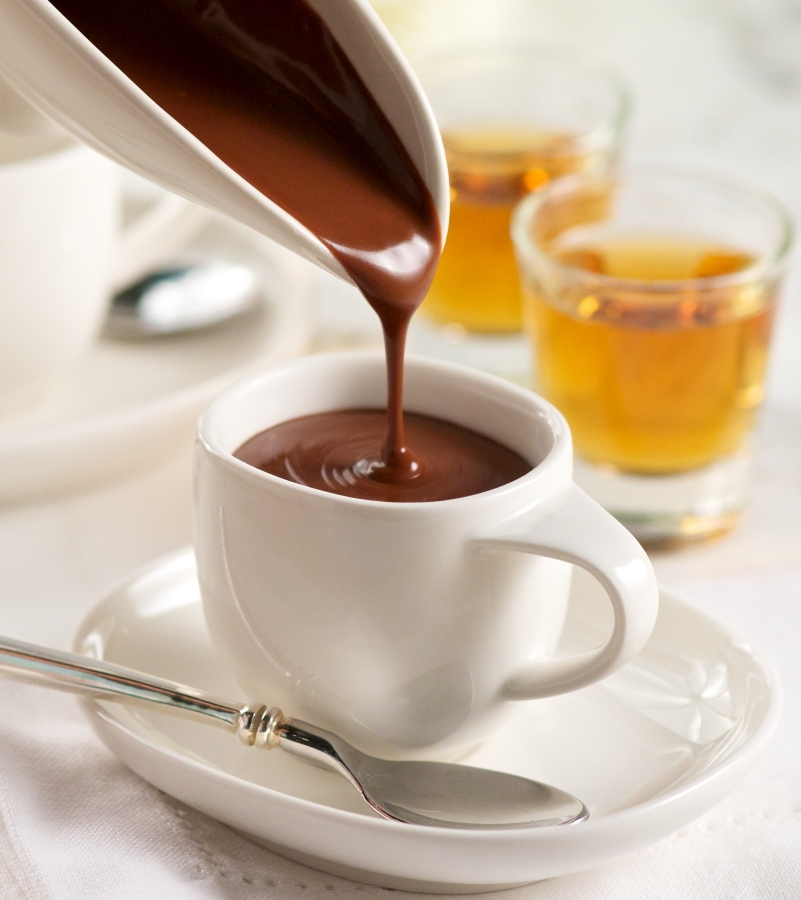 горячий шоколад спб